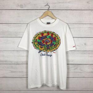 Vintage 1990s Chili Danze Music Art T-Shirt